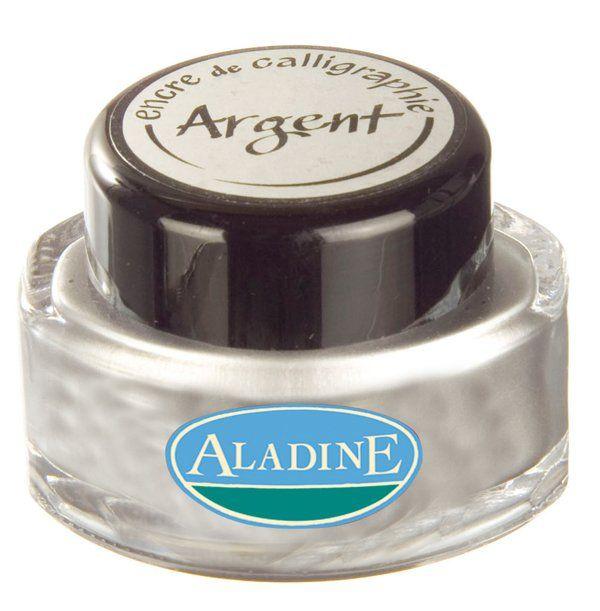 ALADINE CALLIGRAPHY Ink - Калиграфско мастило SILVER