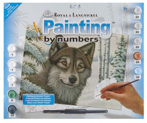 R&L,USA - Рисуване по номера  А3- * PJL29