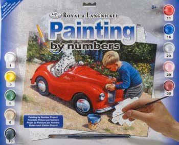R&L,USA - Рисуване по номера  А3- * PJL31
