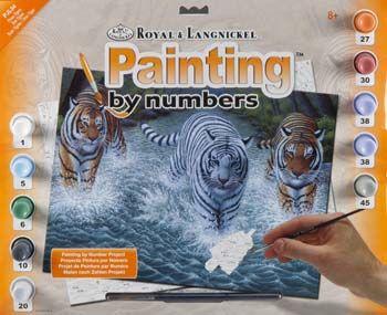 R&L,USA - Рисуване по номера  А3- * PJL34
