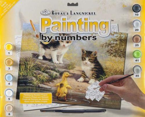R&L,USA - Рисуване по номера  А3- * PJL33