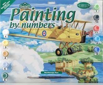 R&L,USA - Рисуване по номера  А3- * PAL4