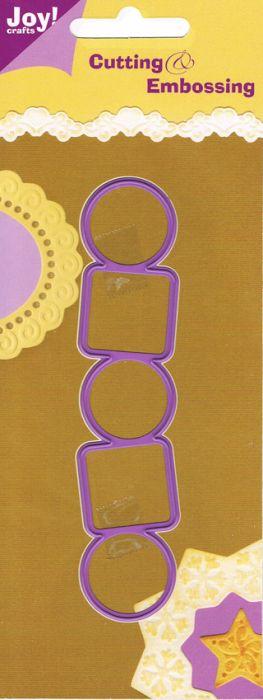 JOY Crafts DIES - Щанца за рязане и ембос 6002/0053