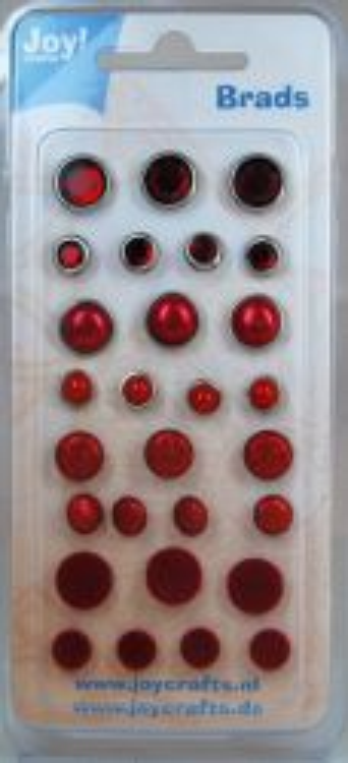 BRADS LUXE by Joy Crafts - червена гама 6030-0002