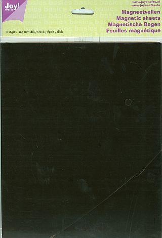 MAGNETIC SHEETS JOY Crafts - Магнитни листи А4 к-кт 2 бр # 6200/0065