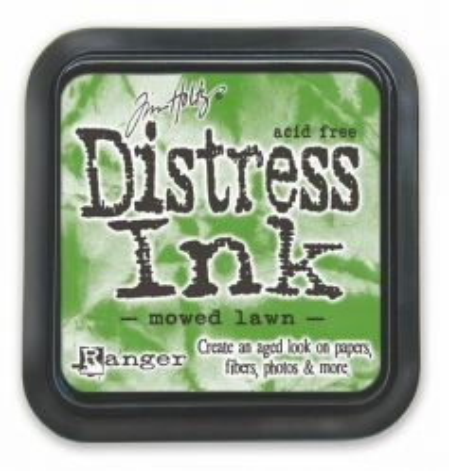 "Distress ink pad by Tim Holtz - Тампон, ""Дистрес"" техника - Mowed Lawn"