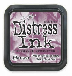 "Distress ink pad by Tim Holtz - Тампон, ""Дистрес"" техника - Seedless Preserves"