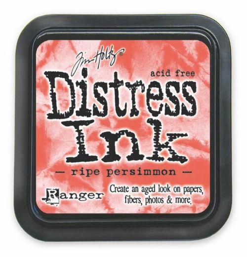 "Distress ink pad by Tim Holtz - Тампон, ""Дистрес"" техника - Ripe Persimmon"