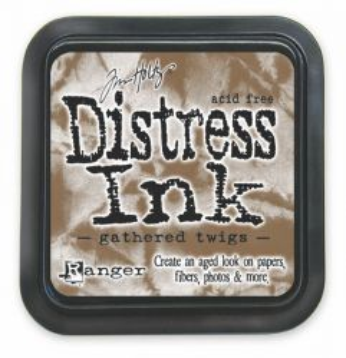 "Distress ink pad by Tim Holtz - Тампон, ""Дистрес"" техника - Gathered Twigs"