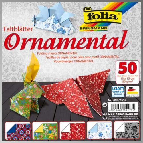 "FB ORNAMENTAL BLOCK 6""X6"" - Блок дизайнерски хартии 50л./15х15см"