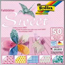 "FB SWEET BLOCK 8""x8""  - Блок дизайнерски хартии 50л. / 20х20см"