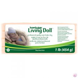 SUPER SCULPEY - LIVING DOLL 454g. BABY