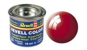 Емайл боя Revell - огнено червено гланц 31
