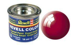 Емайл боя Revell - червено гланц 34