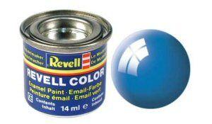 Емайл боя Revell - светлосиньо гланц 50