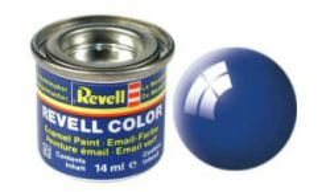 Емайл боя Revell - синьо гланц 52