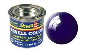 Емайл боя Revell - нощно синьо гланц 54