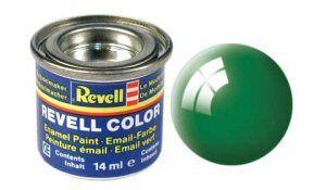 Емайл боя Revell - изумрудено ярко зелено гланц 61