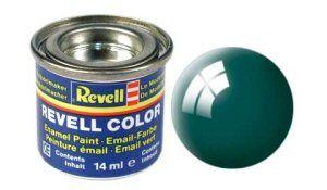 Емайл боя Revell - морско зелено гланц 62