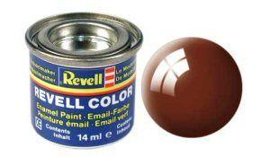 Емайл боя Revell - тинесто кафяво гланц 80