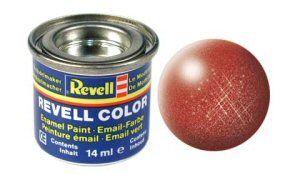 Емайл боя Revell - бронзово металик 95