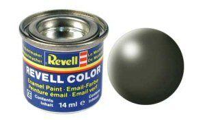 Емайл боя Revell - копринено маслинено зелено 361