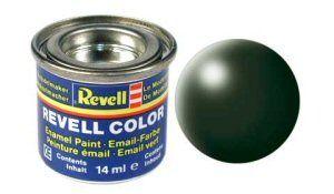Емайл боя Revell - копринено тъмно зелено 363