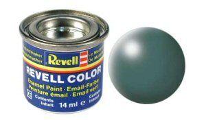 Емайл боя Revell - копринено листно зелено 364