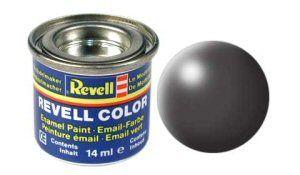 Емайл боя Revell - копринено тъмно сиво 378