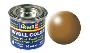 Емайл боя Revell - копринено дървесно кафяво 382