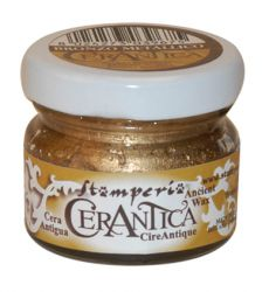 CERANTICA, Stamperia - Перлена восъчна антична паста -Bronzo