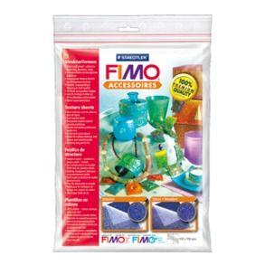 "FIMO - 2бр. Текстурни плочи за полимерна глина - ""Oriental"" and ""meadow"""