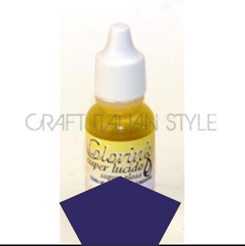 STAMPERIA COLOR INK -Уникално мастило за стъкло и порцелан BLUE