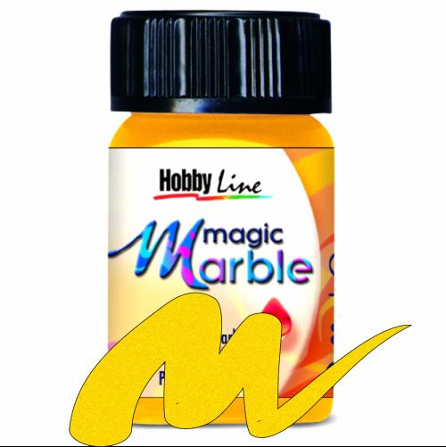 Magic Marble - Боя за мраморен ефект,20мл. - Злато