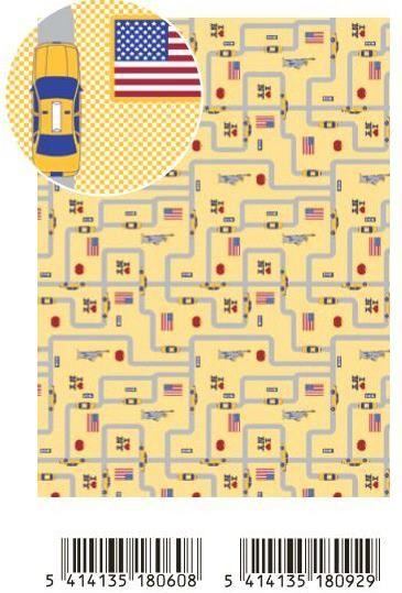 Декупажна ArtePatch тишу хартия 40 х 50 см. - New York