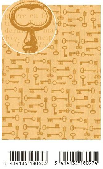 Декупажна ArtePatch тишу хартия 40 х 50 см. - KEYS