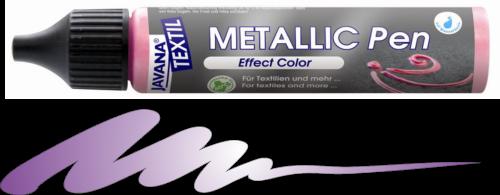 JAVANA METALLIC PEN - Контур металик за текстил и др., 29 мл. - Виолет