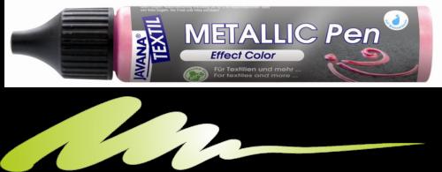 JAVANA METALLIC PEN - Контур металик за текстил и др., 29 мл. - Майско зелено