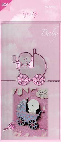 BABY by JOY Crafts - Open UP 3D Щанци за рязане  6003/2007