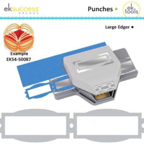EKS USA * CHARM CHAIN - Дизайнерски бордюрен пънч двойна ширина