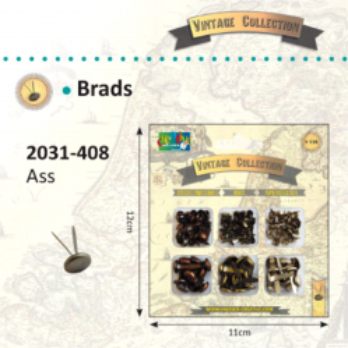 BRADS VINTAGE Element  - Комплект брадс 138 бр.