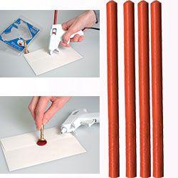 ARTEMIO WAX - Восък пръчки за печат 4 бр. - ORANGE