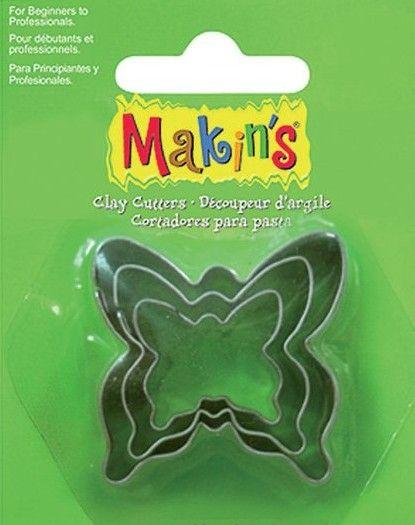 CUTTERS MAKINS - Метални форми за изрязване 3 бр ПЕПЕРУДИ