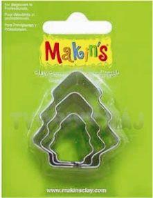 CUTTERS MAKINS - Метални форми за моделиране 3 бр ЕЛХИ