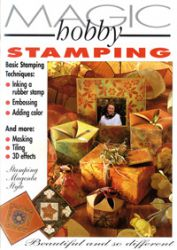 "HOBBY MAGIC ""Stamping Style Book"" -Magenta USA"