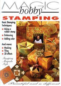 "HOBBY MAGIC ""Stamping Style Book"" -Magenta USA"