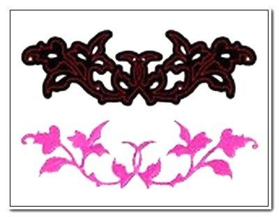 CRAFTS TOO Cutting Stencil - Щанца за рязане ENTWINED 10.5 x 3.2 cm