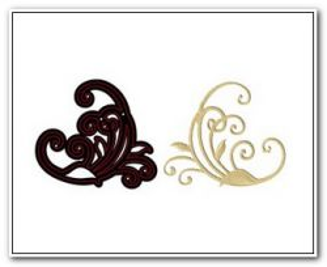 Crafter New Cutting Stencil - Дизайн щанца за рязане  7 x 7.8 cm