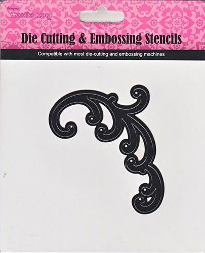 Crafter New Cutting Stencil - Дизайн щанца за рязане 9.5 x 6.5 cm