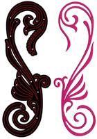 Crafter  New Cutting Stencil - Дизайн щанца за рязане  5 x 15.5 cm